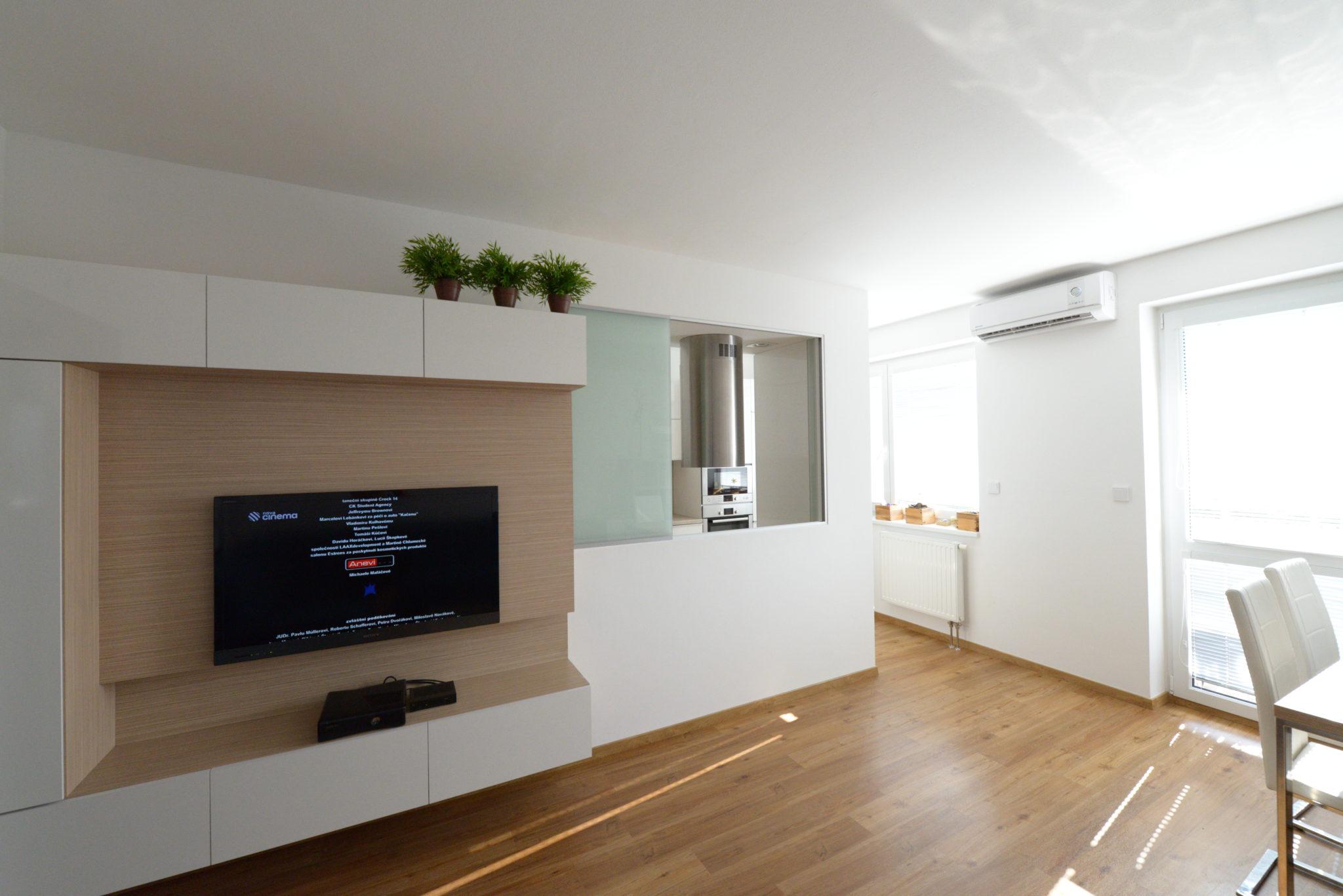 Interiér menšího bytu